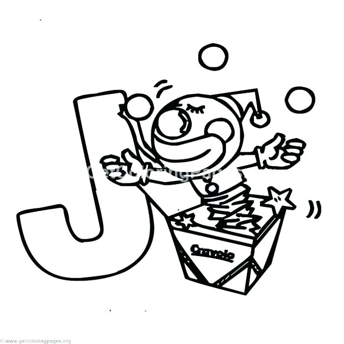700x700 J Coloring Page J Coloring Pages J Coloring Pages And Alphabet