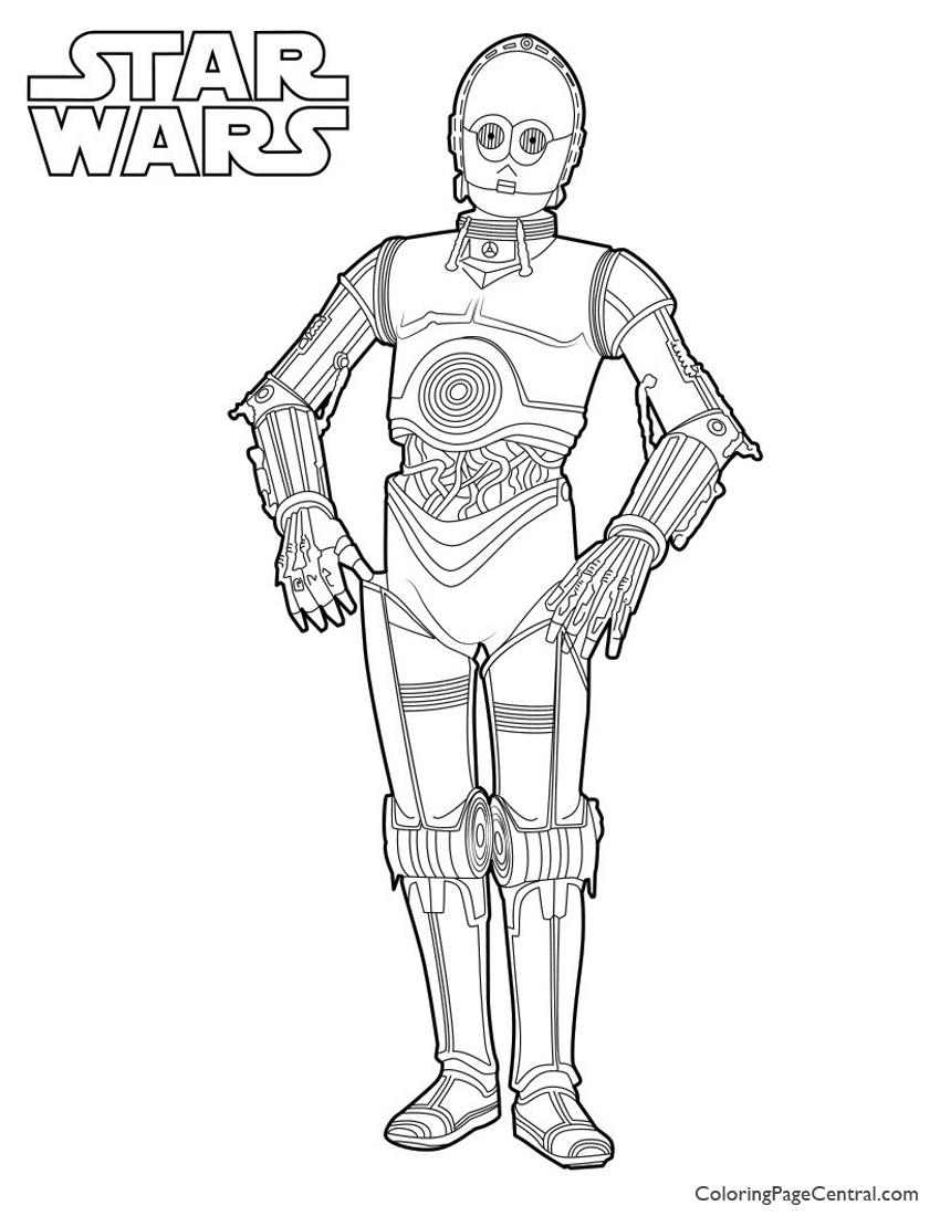 850x1100 Star Wars C Coloring Page Chewbacca Pages