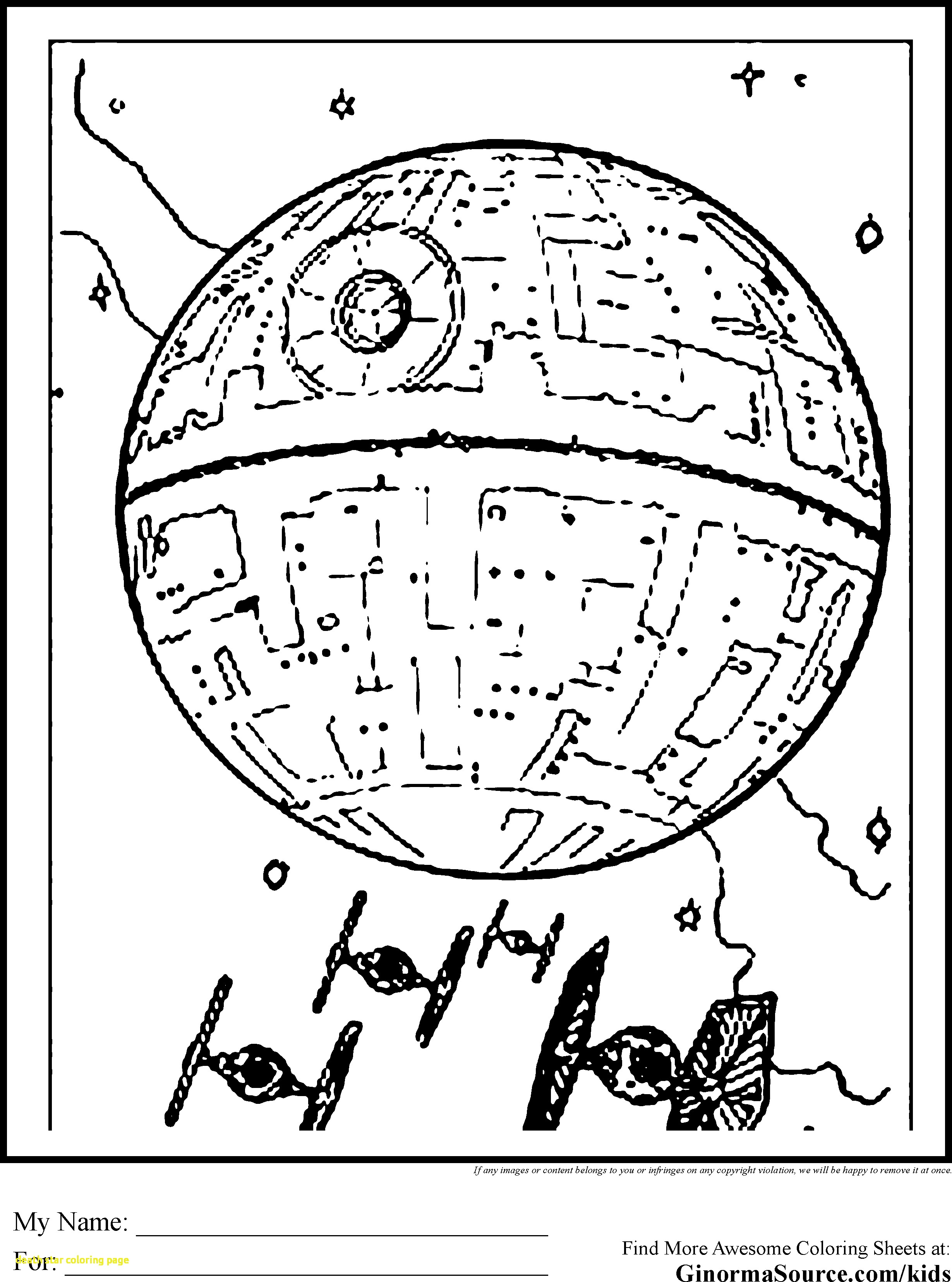 2459x3310 Death Star Coloring Page With Death Star Coloring Page Andyshi