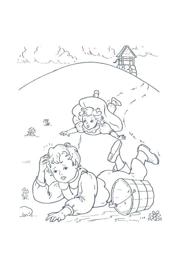 618x875 Jack And Jill Coloring Pages Jack And Coloring Pages Jack And Line