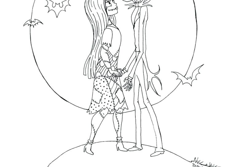 775x544 Free Printable Nightmare Before Coloring Pages Best Free Nightmare