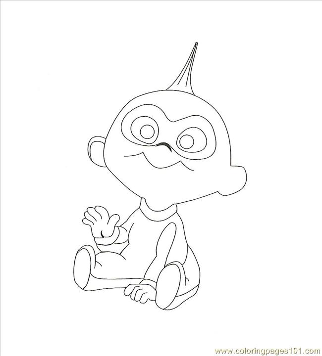 650x720 Jack Coloring Page