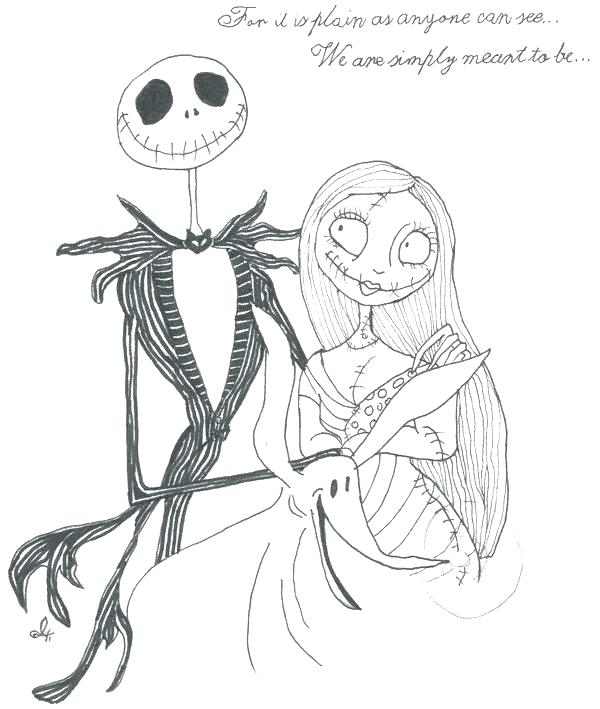 600x709 Jack Skeleton Coloring Pages Jack Coloring Pages Free Printable