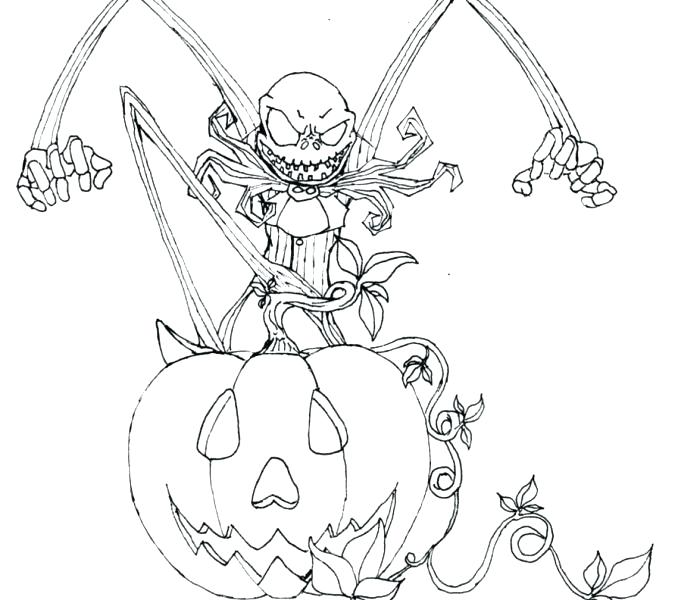 678x600 Jack Skellington Coloring Page Plus Jack Coloring Pages With Free