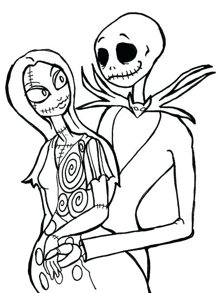 452x600 Jack The Pumpkin King Coloring Pages Nightmare Before Characters