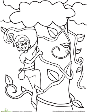 301x388 Jack And The Beanstalk Comprehension, Coloring, And More