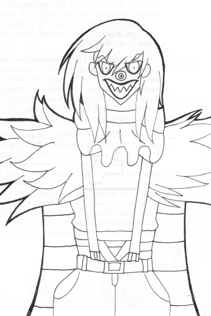 730x1095 Laughing Jack Coloring Pages Printable Coloring For Kids