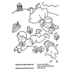 230x230 Top Jack And Jill Coloring Pages For Your Little One