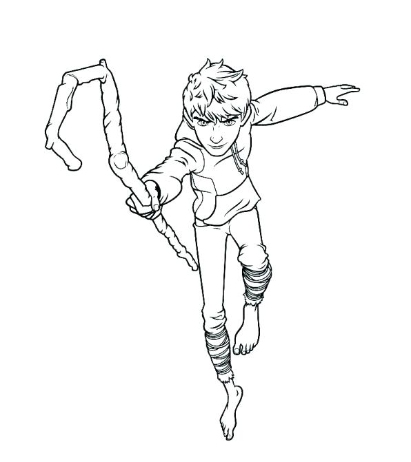 596x671 Jack Frost Coloring Pages Jack Frost Elsa And Jack Frost Colouring