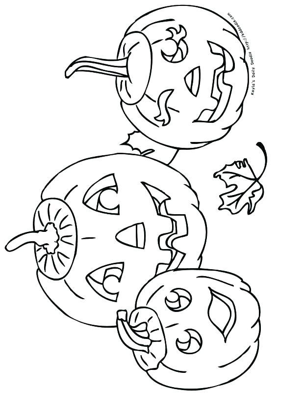 618x800 Halloween Jack O Lantern Coloring Pages Jack O Lantern Colouring