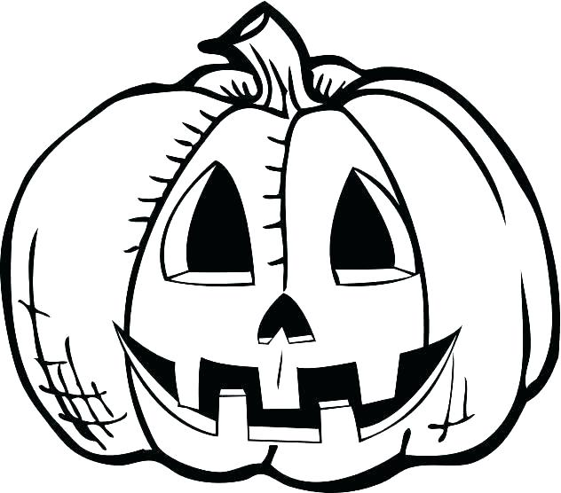 632x556 Jack O Lantern Coloring Page Jack O Lantern Pictures To Color