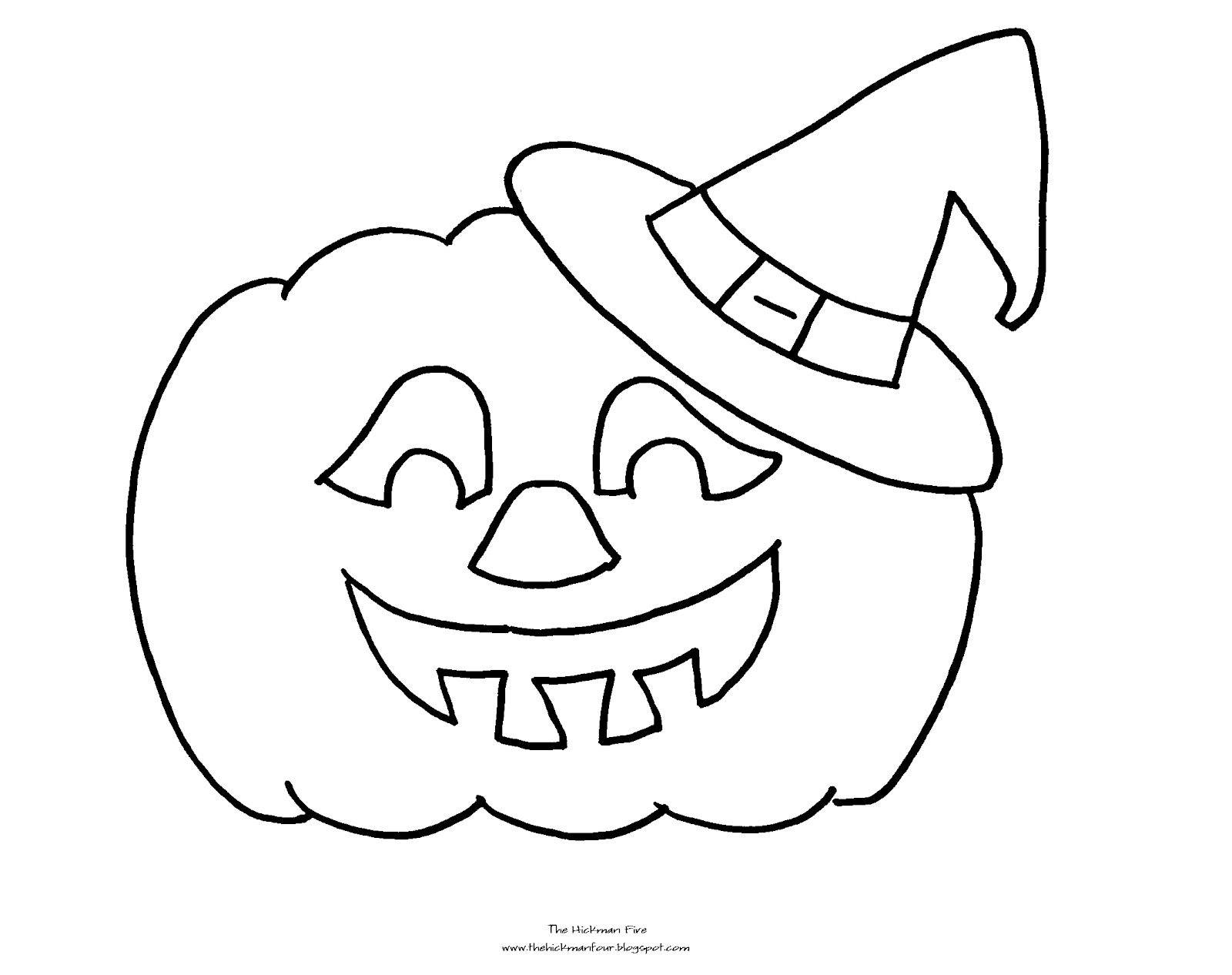 1600x1266 Jack O Lantern Coloring Pages