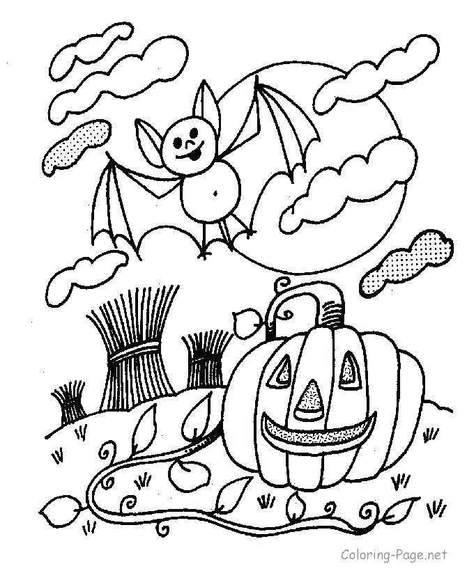 670x820 Jack O Lantern Coloring Pages With Ghosts Jack O Lantern Coloring