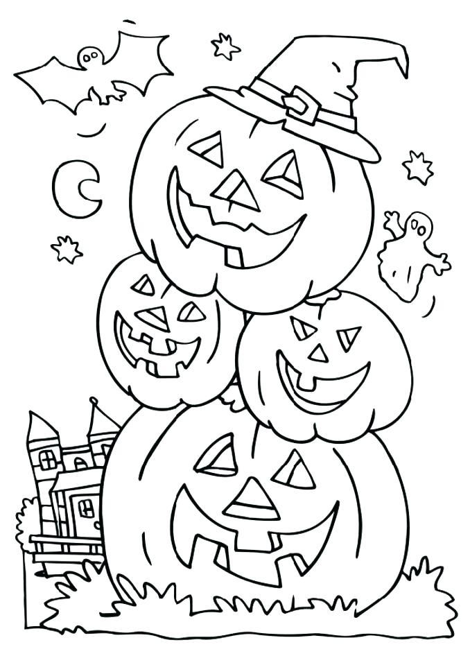 678x959 Coloring Pages Of Jack O Lanterns Vanda