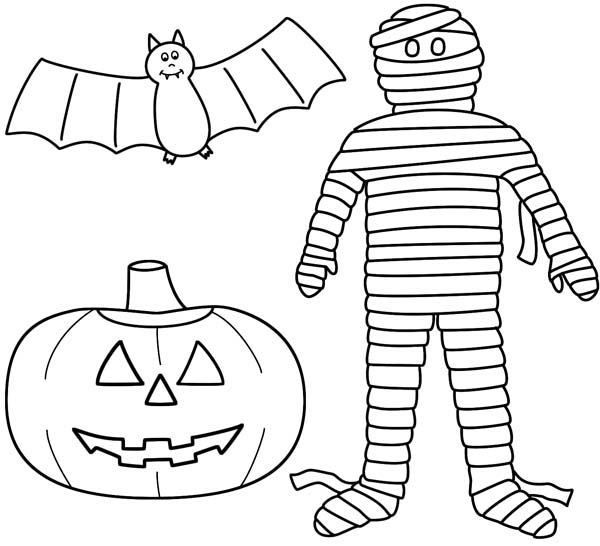 600x546 Gorgeous Halloween Jack O Lantern Coloring Pages Ideas Diy