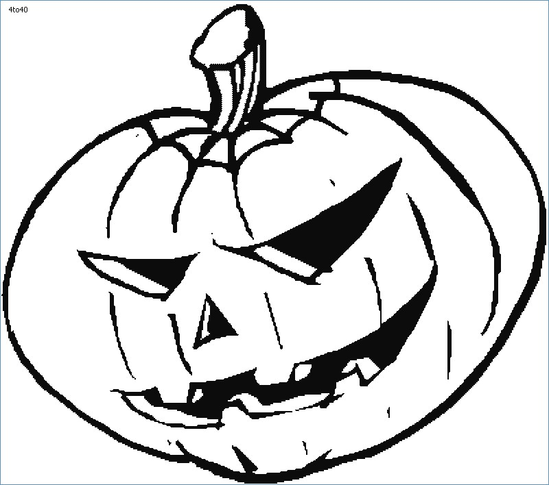 800x708 Halloween Jack O Lantern Coloring Pages