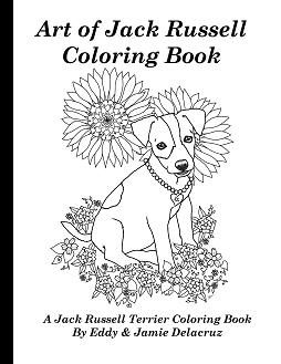 254x329 Art Of Jack Russell Terrier Coloring Book Volume No
