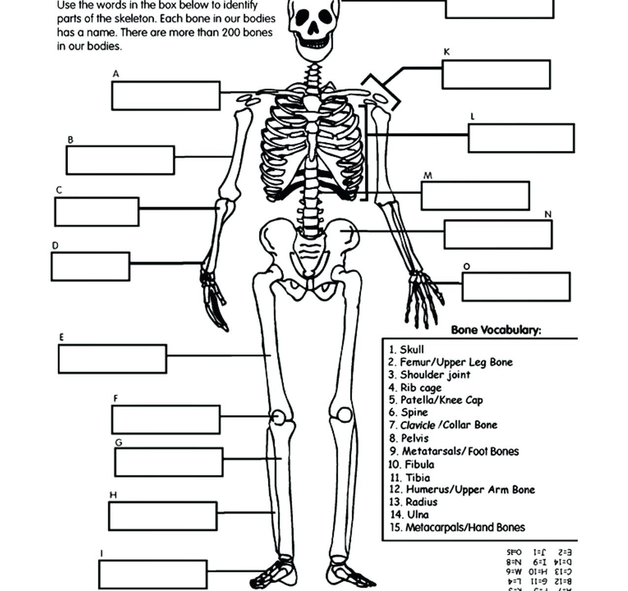 Jack Skeleton Coloring Pages