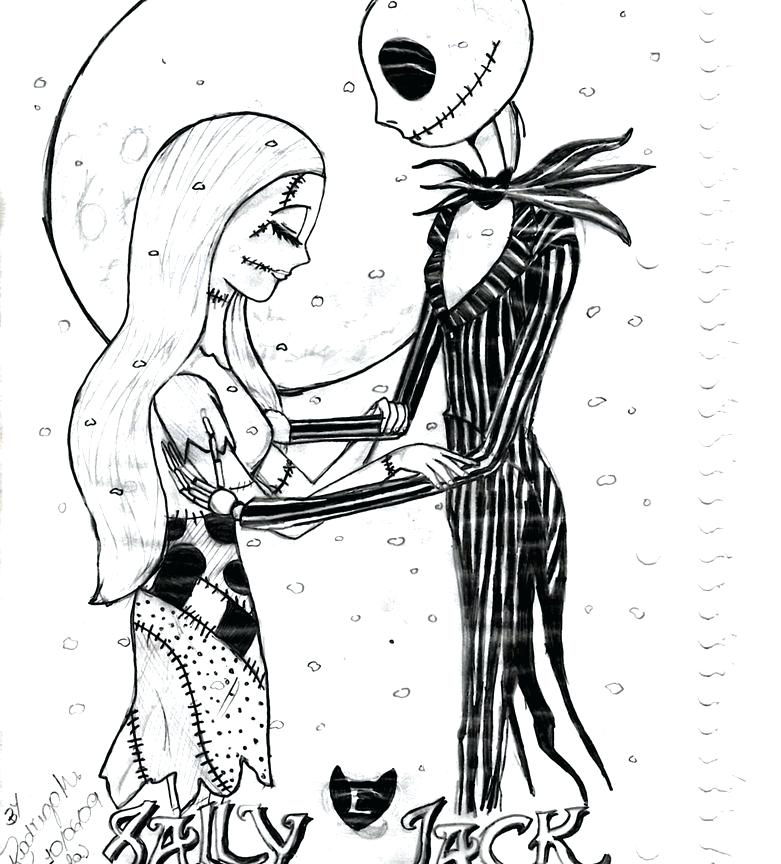 781x864 Jack Skellington Coloring Page Or Jack Coloring Pages