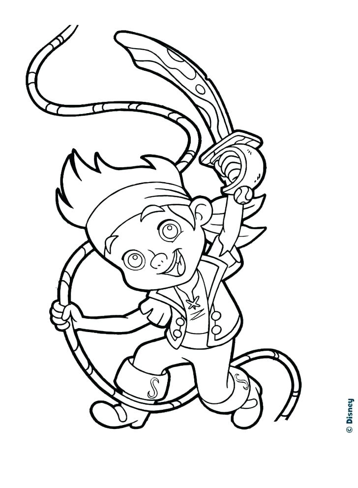728x992 Jack Coloring Pages Coloring Page Of The Pirate Com Captain Jack