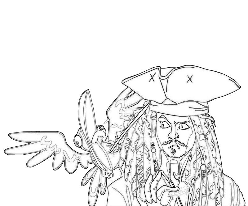 800x667 Jack Sparrow Funny How Coloring