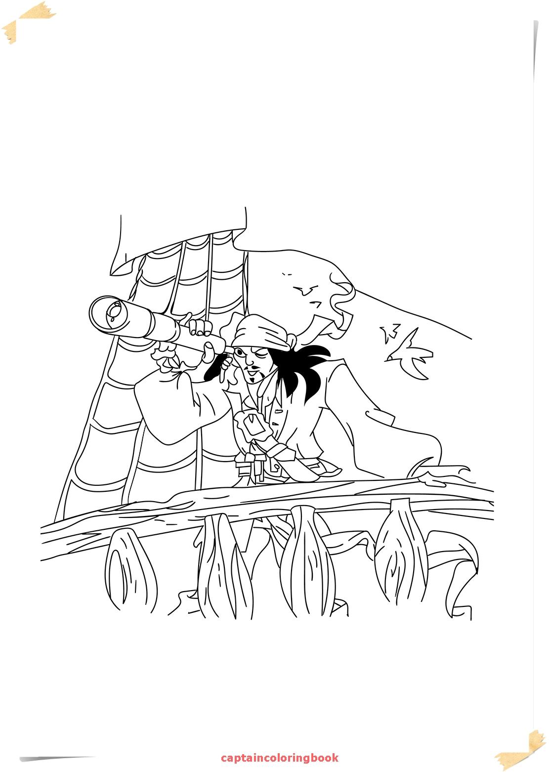 1111x1562 Captain Jack Sparrow Coloring Pages Download