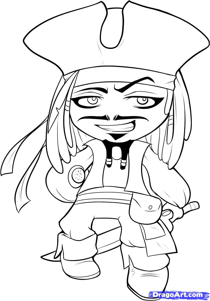 807x1157 Jack Sparrow Coloring Pages