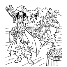 230x230 Top Pirates Of The Caribbean Coloring Pages For Toddlers