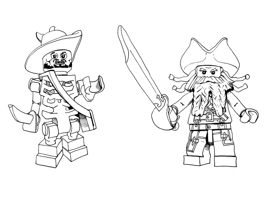 866x650 Lego Jack Sparrow Coloring Pages Movie Jack Sparrow
