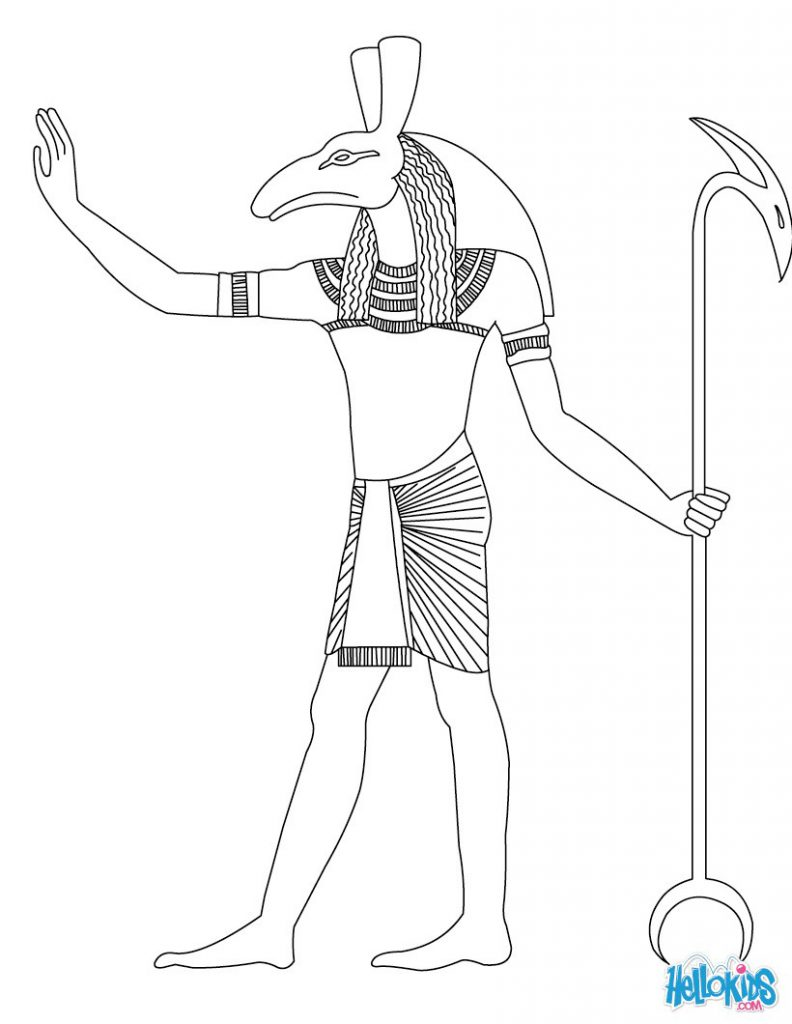792x1024 Frighteningoloring Pages Egypt Beautiful Language With And Online