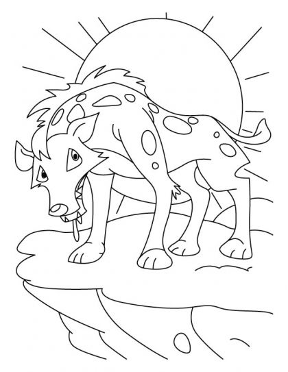 420x543 Tired Jackal Coloring Pages Download Free Tired Jackal Coloring