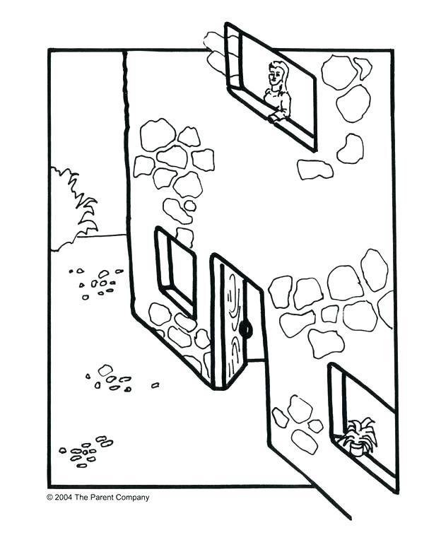 624x757 Walls Of Jericho Coloring Sheet Walls Of Coloring Sheet Jackal