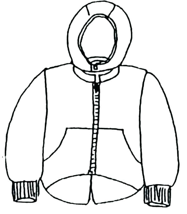 600x687 Coloring Pages Of Winter Clothes Winter Coat Coloring Page Winter