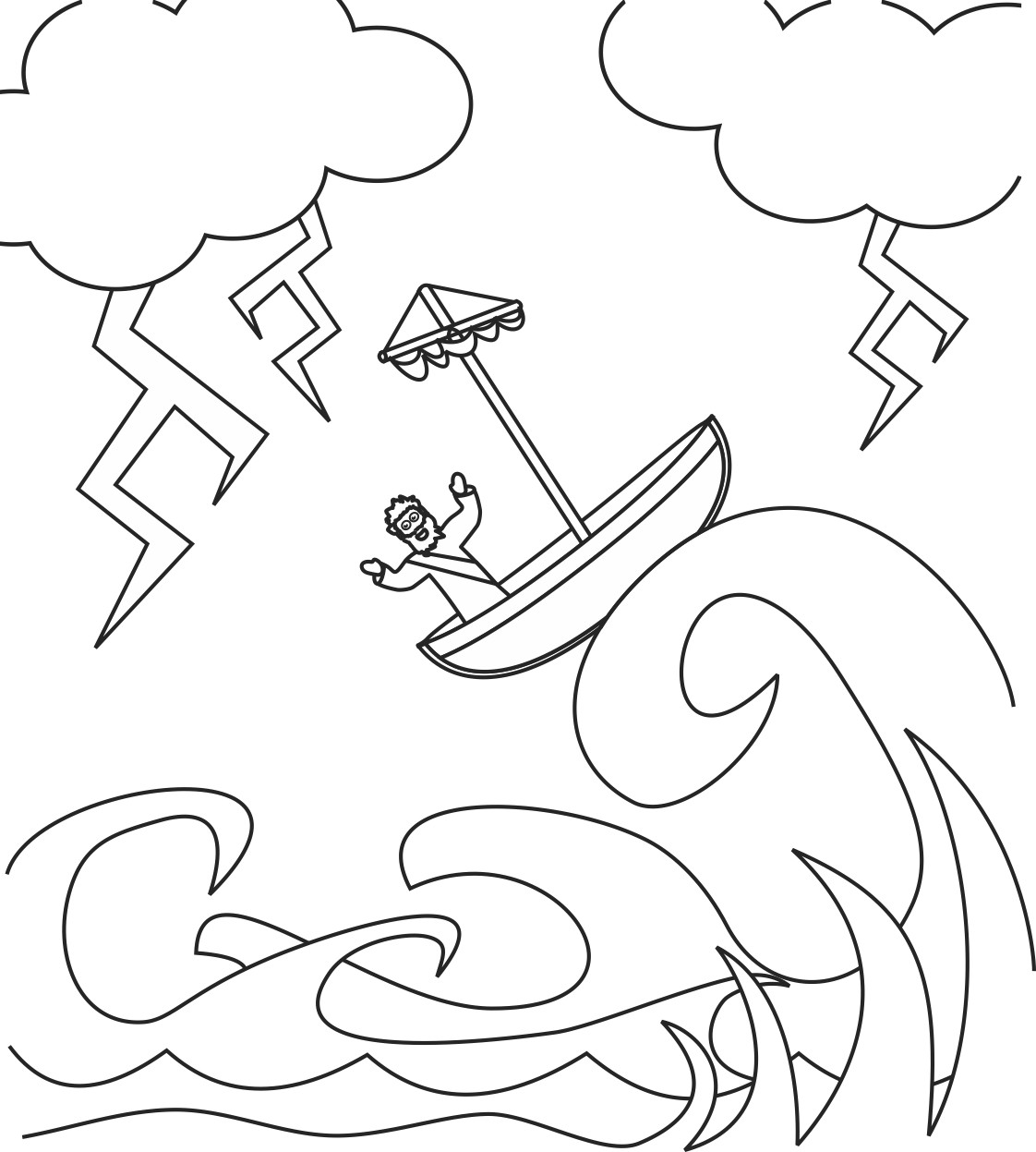 Jackson Storm Coloring Page