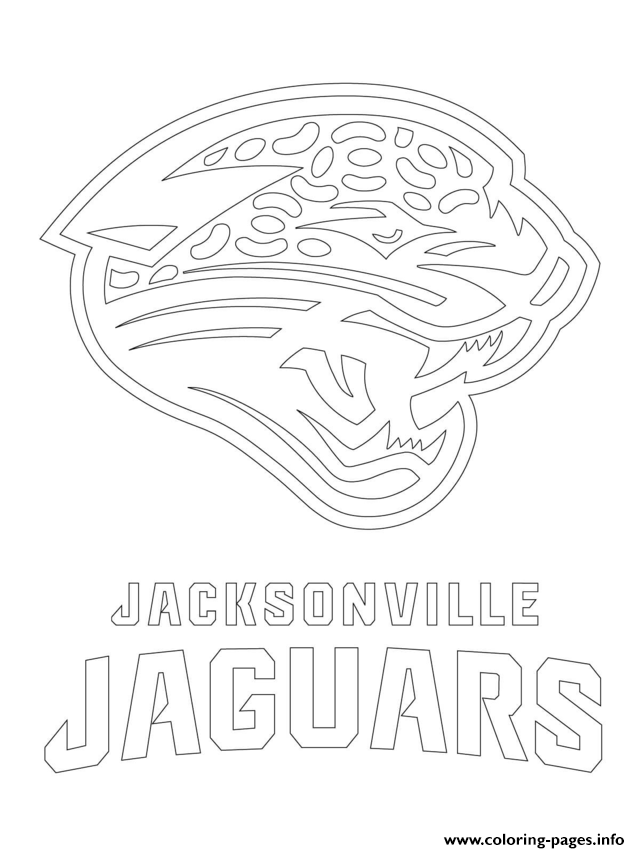 640x853 Jacksonville Jaguars Logo Football Sport Coloring Pages Printable