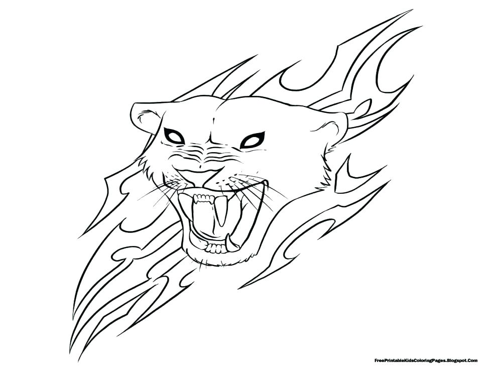 974x731 Jaguar Coloring Pages