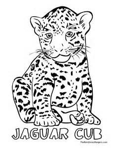 231x300 Printable Jaguar Coloring Pages