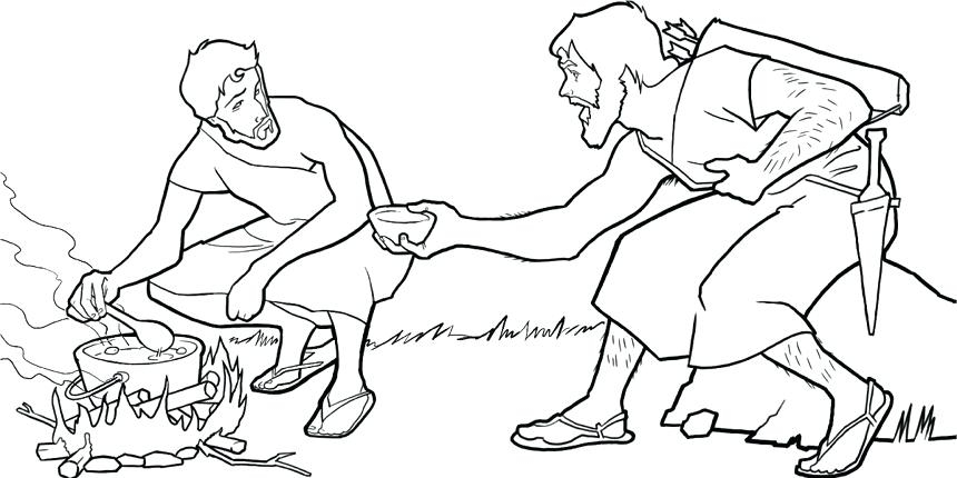 860x430 Jacob And Esau Coloring Pages Awesome Jacob And Esau Coloring Page