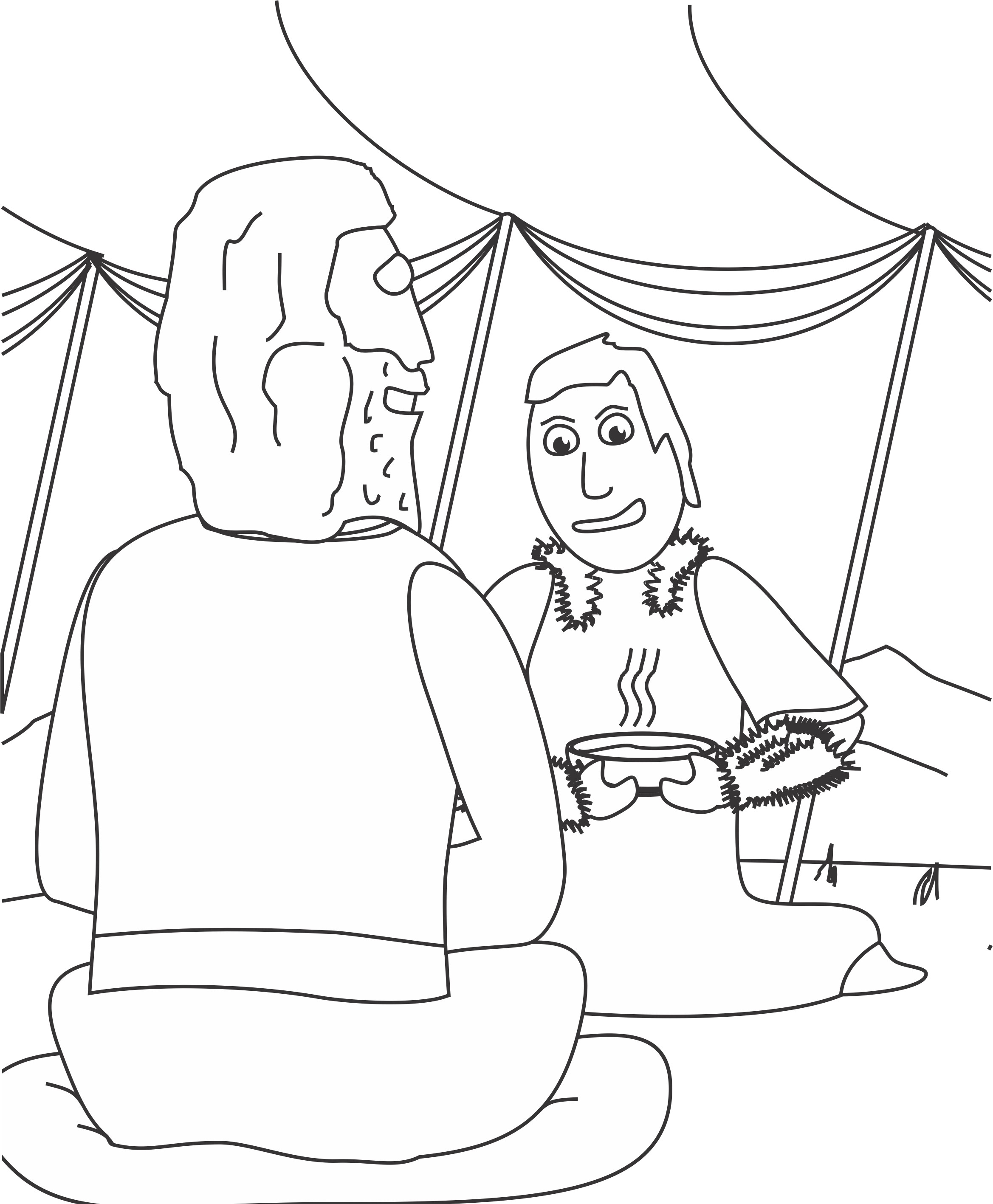 2338x2835 Coloring Pages For Jacob And Esau Best Of Jacob And Esau Coloring