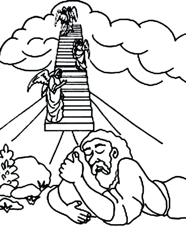 Jacob And Esau Coloring Pages Printable At Getdrawings Com