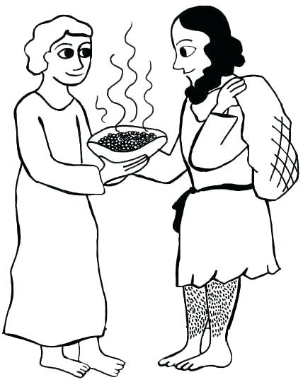 428x540 Jacob And Esau Coloring Page And Coloring Pages Beautiful And Ring