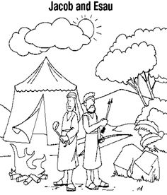 236x276 Jacob Esau Worksheets And Coloring Pages History
