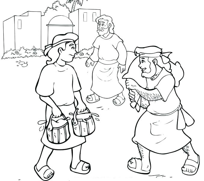 678x600 Free Printable Coloring Pages Of Jacob And Esau Lesson Esau