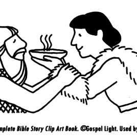 268x268 Bible Coloring Pages Jacob And Esau Archives