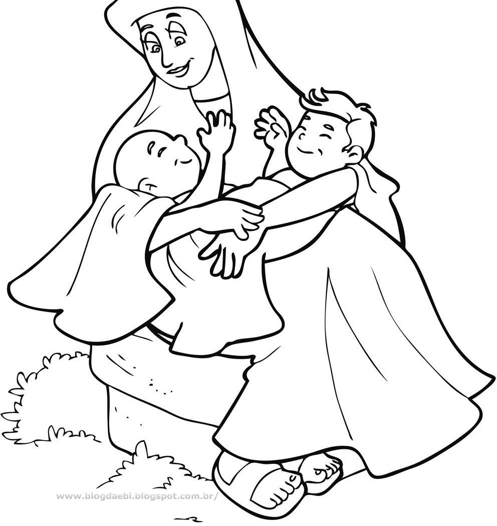 992x1050 Bible Coloring Pages Isaac And Rebekah Kid Crafts Printable Other