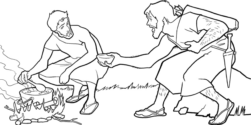 860x430 Jacob And Esau Coloring Pages Best Jacob And Esau Coloring Pages