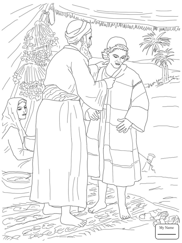 768x1024 Joseph Son Of Jacob Coloring Pages