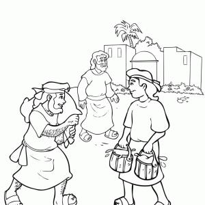 300x300 Free Coloring Pages Jacob And Esau Ardiafm