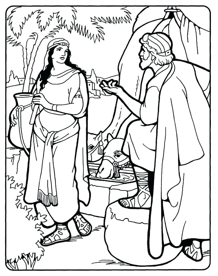 736x933 Jacob And Esau Coloring Pages Coloring Pages And Jacob And Esau