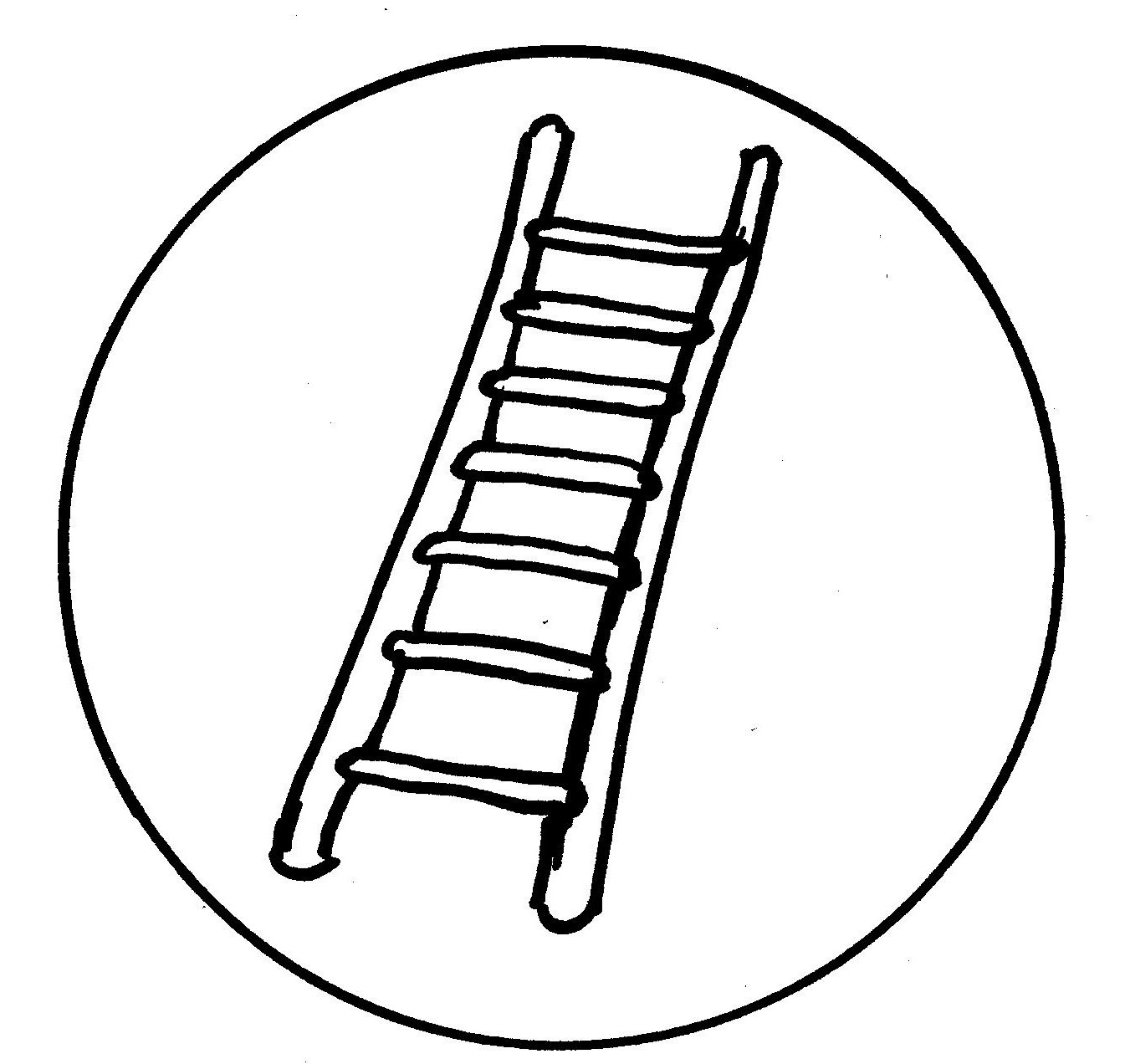 1345x1272 Jacobs Ladder Colouring Pages